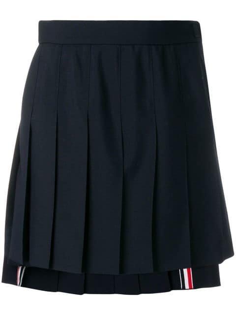 Thom Browne School Uniform Pleated Skirt - Farfetch