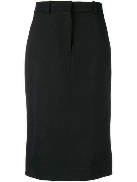 Calvin Klein 205W39nyc Side Buttoned Midi Skirt - Farfetch