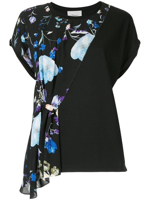 3.1 Phillip Lim Floral Designer Top - Farfetch