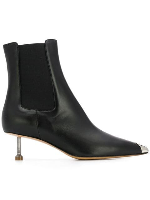 Maison Margiela Screw Kitten Heel Boots - Farfetch
