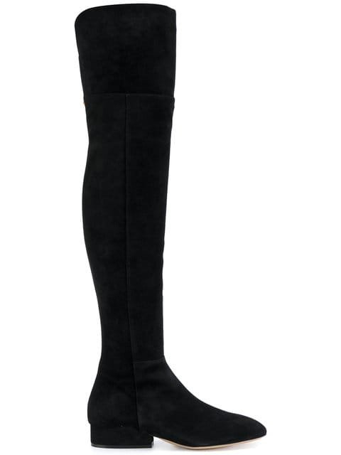 Salvatore Ferragamo Over The Knee Boots - Farfetch
