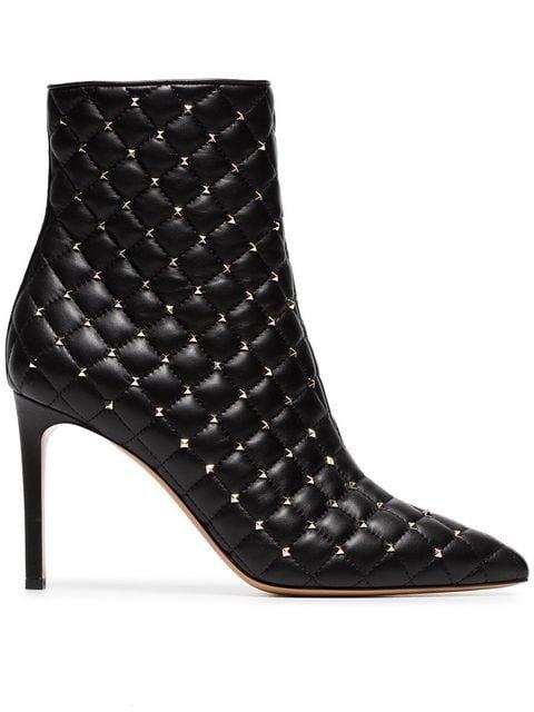 Valentino Valentino Garavani Rockstud Spike Ankle Boots - Farfetch