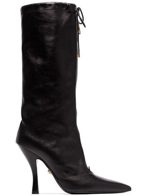 Versace Mid-calf Zip Boots - Farfetch