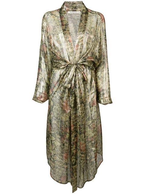 Mes Demoiselles Floral Kimono Jacket - Farfetch