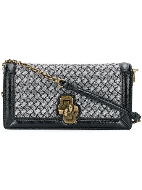 Bottega Veneta Intrecciato Knitted Knot Clutch - Farfetch