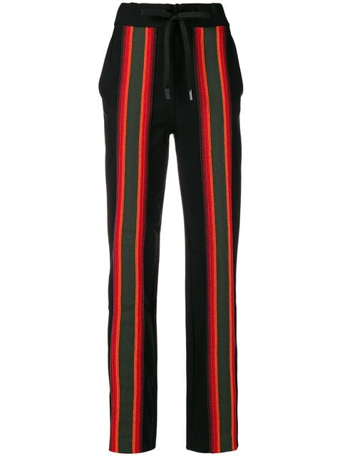 No Ka\' Oi Striped Appliqués Track Pants - Farfetch