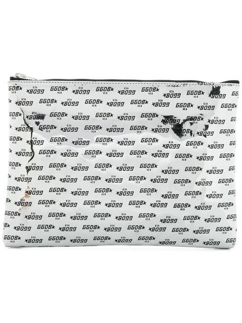 Golden Goose Deluxe Brand Square Shaped Clutch Bag  - Farfetch