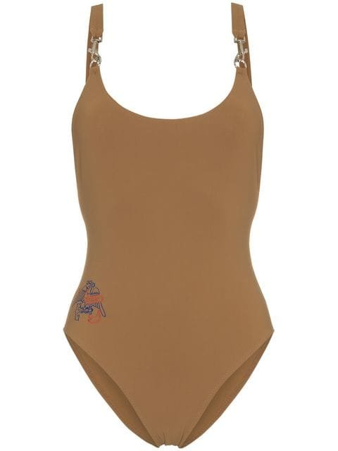 Rudi Gernreich Buckle Swimsuit - Farfetch