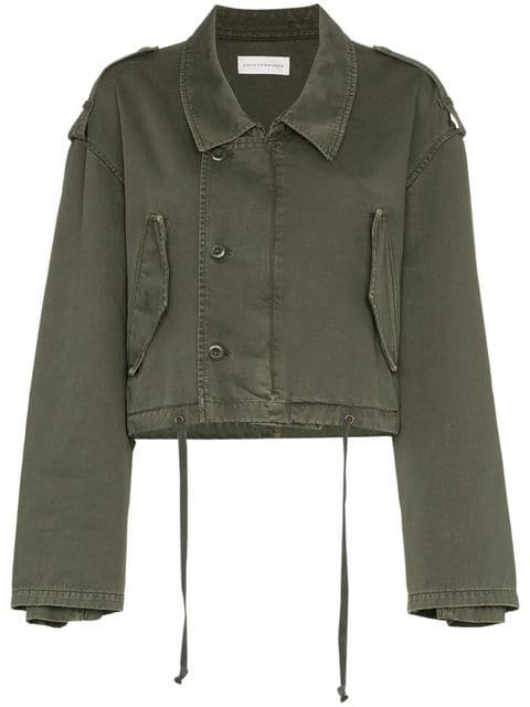 Faith Connexion Cropped Military Jacket  - Farfetch