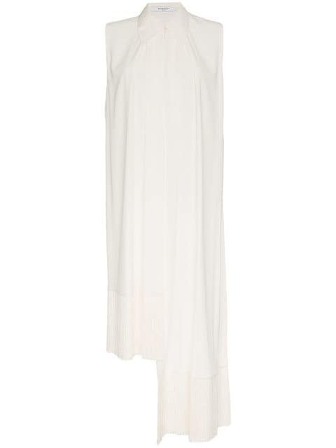 Givenchy Fringe-trimmed Silk-crepe Top - Farfetch