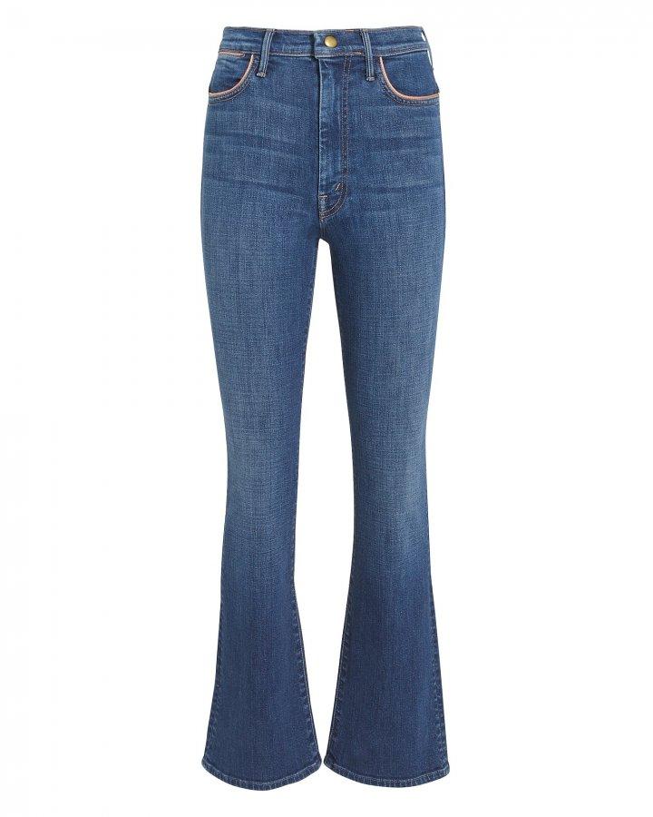 Hustler Pink Trim Ankle Hem Jeans