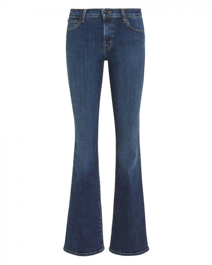 Selena Mid-Rise Boot Cut Jeans