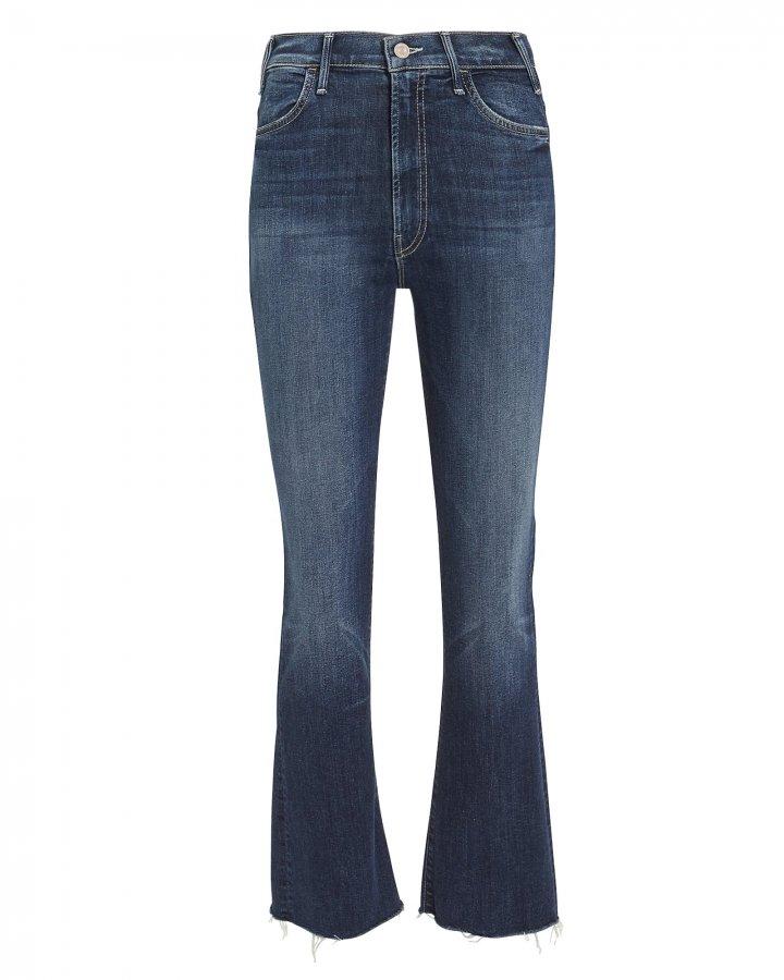 Hustler Frayed Blue Jeans
