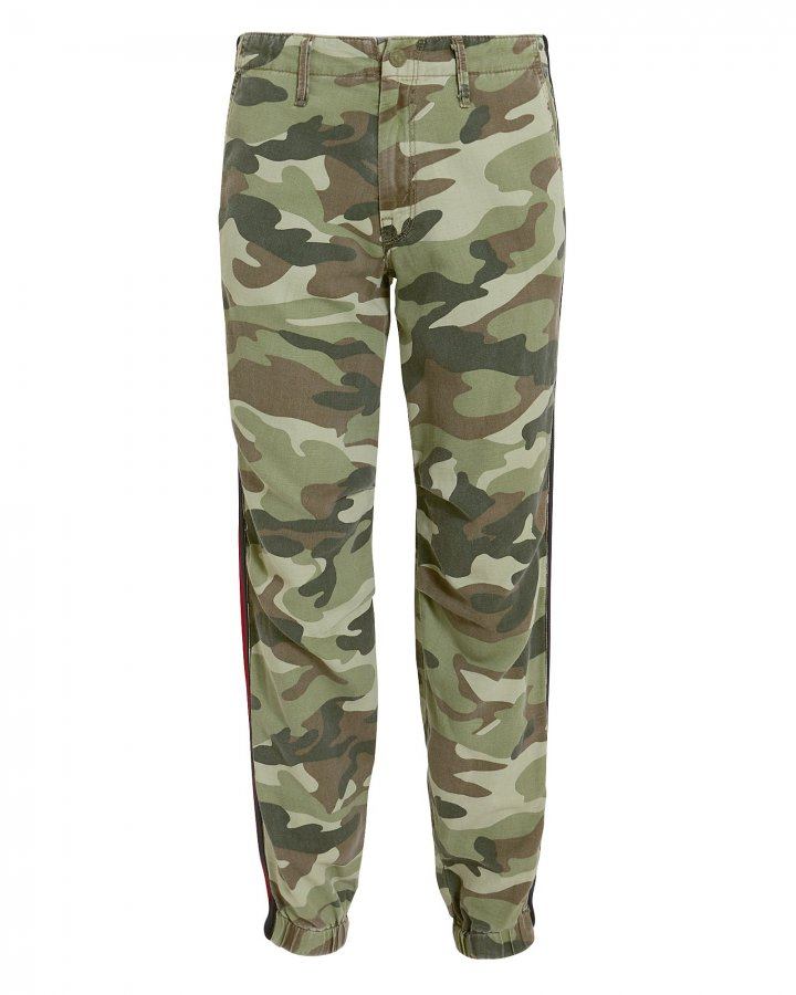 No Zip Misfit Camo Pants
