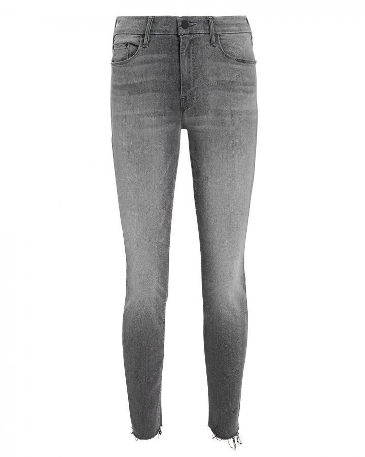 Looker Ankle Fray Supermoon Grey Jeans