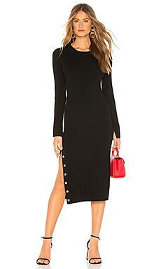 Selena Sweater Dress                                             Alice + Olivia