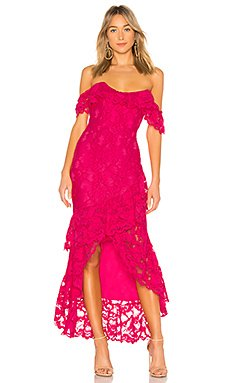 Rosewater Lace Gown                                             Lovers + Friends
