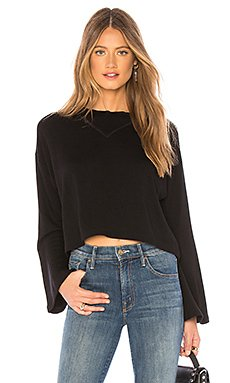 Abby Crop Sweatshirt                                             LNA