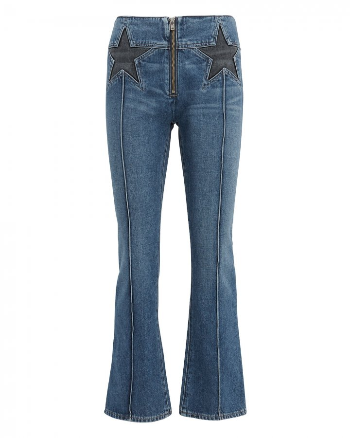 Annabelle Crop Flare Jeans