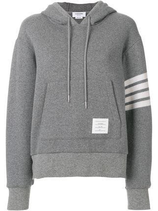 Thom Browne Double-faced Cashmere Pullover Hoodie - Farfetch