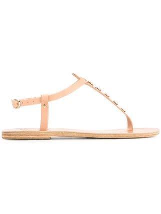 Ancient Greek Sandals Lito Pearls Sandals  - Farfetch