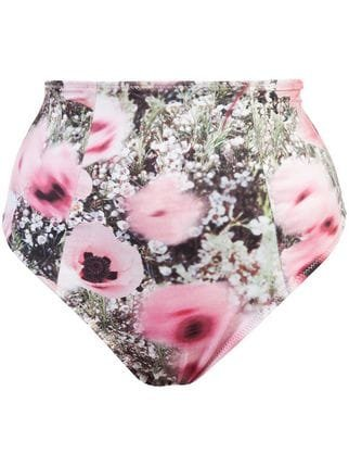 Fleur Du Mal High Waisted Bikini Bottoms  - Farfetch