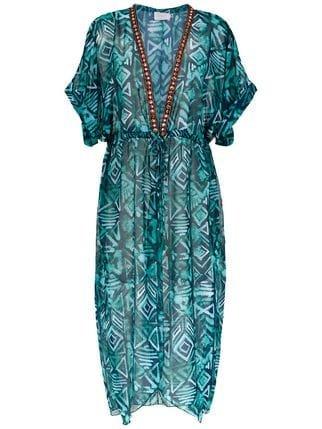 Brigitte Silk Beach Dress - Farfetch