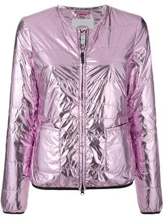 Rossignol Collarless Laminated Jacket - Farfetch