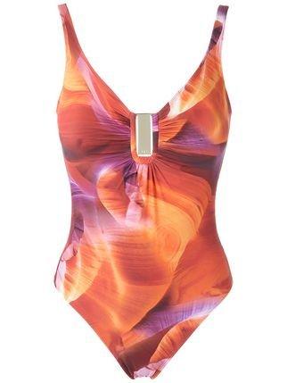 Lygia & Nanny Printed Swimsuit - Farfetch