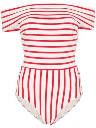 Solid And Striped The Vera Swimsuit - Farfetch