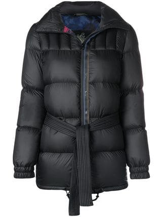 Mr & Mrs Italy Belted Padded Jacket - Farfetch