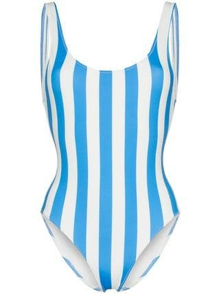 Solid And Striped The Anne-marie Stripe Swimsuit - Farfetch