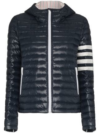 Thom Browne Hooded Padded Jacket - Farfetch