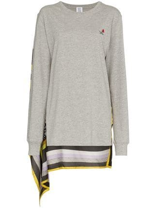Rosie Assoulin Scarf-Back Long-Sleeve T-Shirt - Farfetch