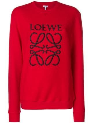 Loewe Print Jersey Sweater - Farfetch