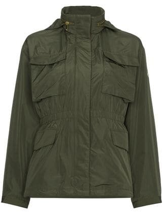 Moncler Green Safari Jacket - Farfetch