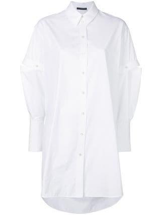 Alexander McQueen Oversized Poplin Shirt - Farfetch