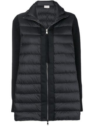 Moncler Padded Knit Cardigan - Farfetch