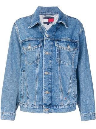 Tommy Hilfiger Oversized Denim Jacket - Farfetch