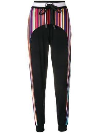 No Ka\' Oi Stripe Panel Track Pants - Farfetch