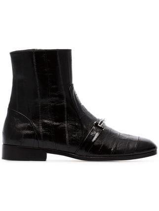 Newbark Joey Embellished Ankle Boots  - Farfetch