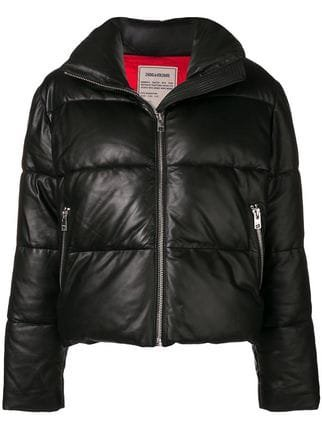 Zadig&Voltaire Fashion Show Cropped Puffer Jacket - Farfetch