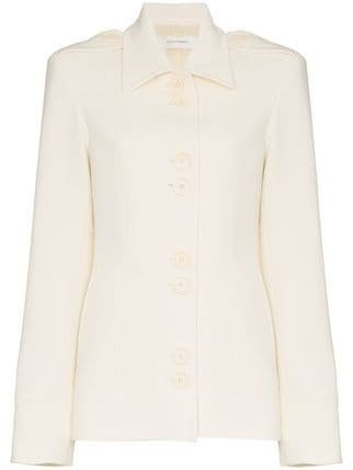 Wales Bonner Single-breasted Fitted Jacket - Farfetch