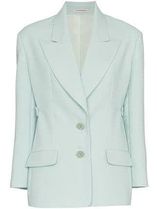 Vika Gazinskaya Single-Breasted Blazer - Farfetch