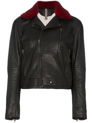 Lot Lthr Leather Biker Jacket - Farfetch