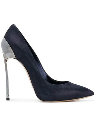 Casadei Blade Metallic Pumps - Farfetch