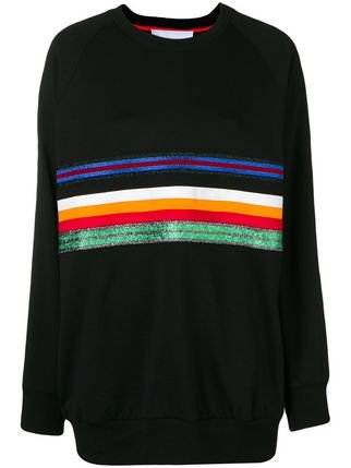 No Ka\' Oi Oversized Stripe Front Sweatshirt - Farfetch