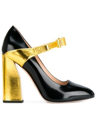 Gucci Bow Strap Pumps - Farfetch