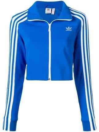 Adidas Cropped Track Jacket - Farfetch