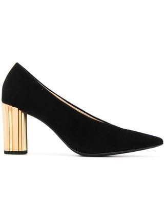 Hogl Metallic Heel Pumps - Farfetch